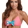 Kandy Wrappers Bow Halter Top at PacSun.com