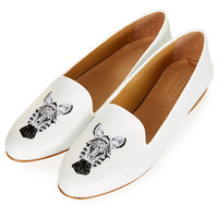 KHAN Animal Slippers - Topshop USA