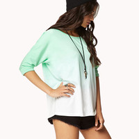 Boxy Ombr Tee