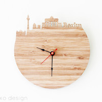 Berlin Modern Wall Clock