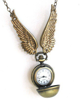 Steampunk Harry Potter FLYING Golden Snitch by GlazedBlackCherry