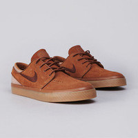 Flatspot - Nike SB Stefan Janoski Light British Tan / Dark Field Brown