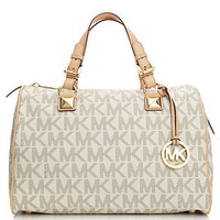 MICHAEL Michael Kors Handbag, Grayson Large Satchel - Handbag Trends - Handbags &amp; Accessories - Macy&#x27;s