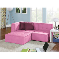 Walmart: your zone loft collection comfy lounger, pink jubilee
