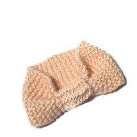Valentines Day Hand Knit Headband/Ear Warmer - Pink
