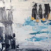 City Asipirations Painting by Brandy Magill - City Asipirations Fine Art Prints and Posters for Sale