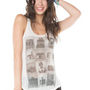 Brandy ♥ Melville |  Kay Vintage Camera Tank - Clothing