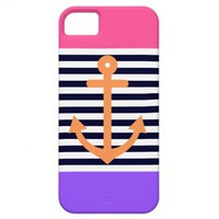 Girly Summer Nautical 2 iPhone 5 Cases from Zazzle.com