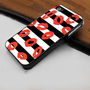 Marc By Marc Jacobs Stripey Lips Snap - Hard Case Print for iPhone 4 / 4s case - iPhone 5 case - Black or White (Option Please)