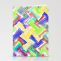 Nu Wave Stationery Cards by Glanoramay