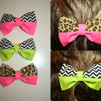 Neon Hair Bow Collection ***ANY TWO FOR $12 DOLLARS ***