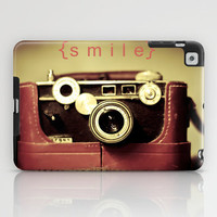 {smile} iPad Case by Ann B.