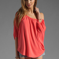 James &amp; Joy James Top in Coral from REVOLVEclothing.com