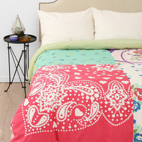 Plum &amp; Bow Kerchief Patch Duvet Cover