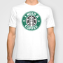 STARBUCKS - I need a coffee! T-shirt by John Medbury (LAZY J Studios)