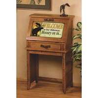 Big Sky Carvers Meissenburg Secretary Desk - Save 41%