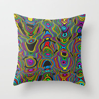 Smiles Throw Pillow by Glanoramay