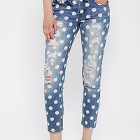 BDG Slim Slouch Jean - Polka Dot