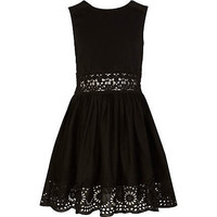 Black Lace Sun Dress