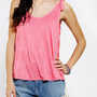 Pins And Needles Tie-Shoulder Tank Top
