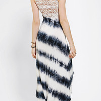 Staring At Stars Crochet-Top High/Low Maxi Dress