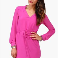 Sadie Dress - Fuschia