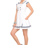 Hell Bunny White Sailor Dress | Hot Topic