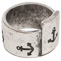 Anchor Stamp Ring - What&#x27;s New | GYPSY WARRIOR