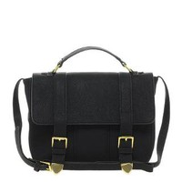 ASOS Satchel Bag With Straight Flap
