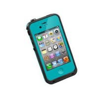Amazon.com: COCO FUN Waterproof Protection Case Cover For Apple iPhone 4/4S - (Multi Color) - Blue: Cell Phones &amp; Accessories