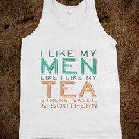 Southern Men Tank - Text Tees - Skreened T-shirts, Organic Shirts, Hoodies, Kids Tees, Baby One-Pieces and Tote Bags