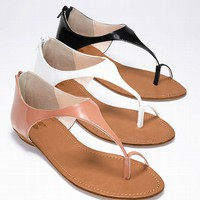 Closed-back Sandal