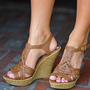 Perfect Summer Wedge: Brown | Hope&#x27;s