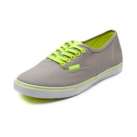 Vans Authentic Lo Pro Skate Shoe, Neon Gray  Journeys Shoes