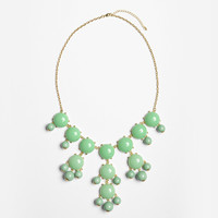 Sea Green Bubble Necklace