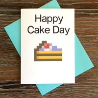 Reddit Happy Cake Day Birthday Card