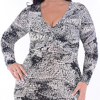 Distracted (Plus)-Great Glam is the web&#x27;s top plus size online store clothing website for 1X 2X and 3X clothes and apparel for ladies, women and juniors