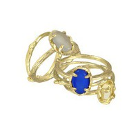 Stormy Stackable Rings in Blue Saffron - Kendra Scott Jewelry
