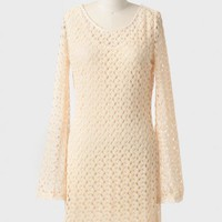 Maven Lace Bell Sleeve Dress at ShopRuche.com