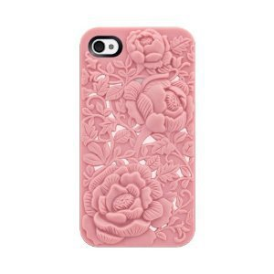 SwitchEasy SW-BLO4S-P Avant-garde Hard Case for iPhone 4 & 4S - 1 Pack - Case - Retail Packaging - Blossom - Pink: Cell Phones & Accessories