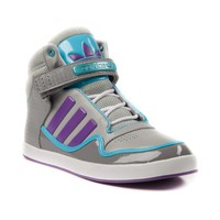 Womens adidas ADI-Rise 2.0 Athletic Shoe, Gray Purple Blue, at Journeys Shoes