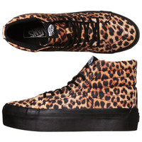 Vans SK8 Hi Top Leopard Black Trainers