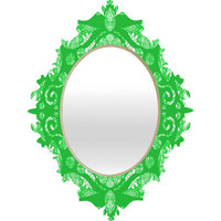 DENY Designs Home Accessories | Paula Ogier Lush Life Baroque Mirror