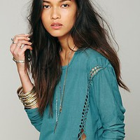 Free People We The Free Lunch Date Top