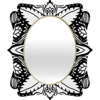 DENY Designs Home Accessories | Paula Ogier Aviation Quatrefoil Mirror