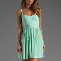 Amanda Uprichard Silk Champagne Dress in Sherbert from REVOLVEclothing.com