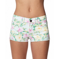 Garden Rose Print Shorts