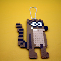 Rigby Keychain. Rigby Regular Show. Regular Show Keychain.