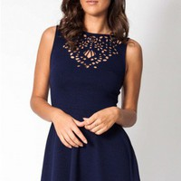 Miss Audrey dress in navy  | Show Pony Fashion online shopping