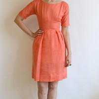 1960s Dress // vintage 60s party dress // Mollie